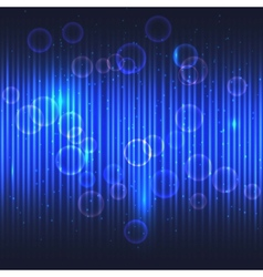 Abstract glowing blue background vector