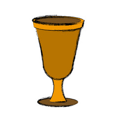 Chalice icon isolate vector