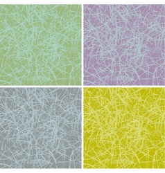 Grunge scratched surface background in multiple co vector