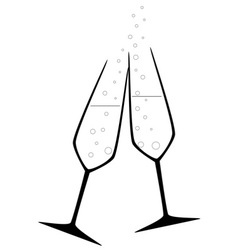 Celebration Drink vector image vector image