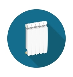 Flat icon radiator vector