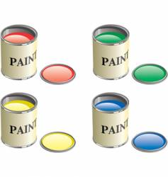 paint can vector image vector image