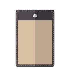 Purple vintage badge vector