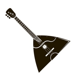 balalaika stock vector image