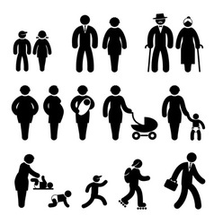 People age vector