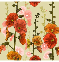 Bright Seamless Floral Background vector image