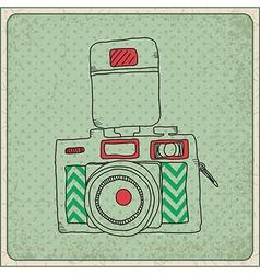 camara frame vector image