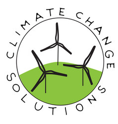 climate change wind vector image