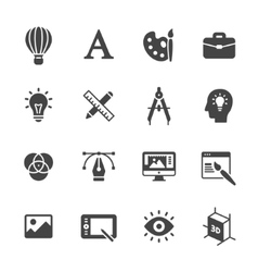 Design Icons vector image vector image