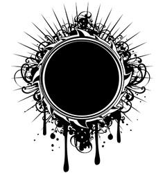 frame grunge vector image vector image