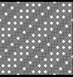 Design seamless monochrome decorative pattern vector