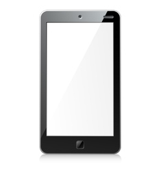 New black smartphone vector