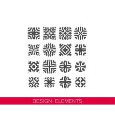 Set of decorative elements for design vector