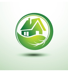 Green house2 vector