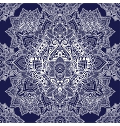 Beautiful ethnic floral paisley seamless ornament vector image vector image