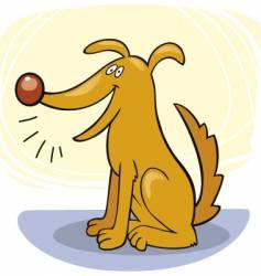 Dog tricks vector