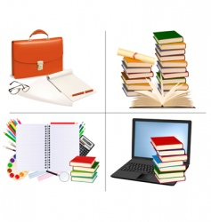 Education design elements vector