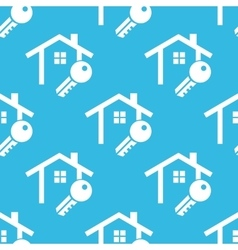 House key pattern vector