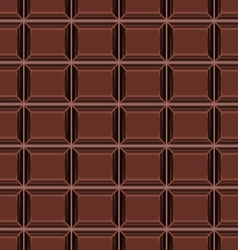 Seamless pattern with chocolate texture vector