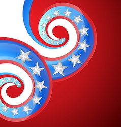 Creative 4th of july vector