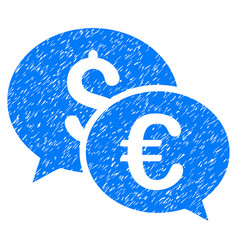 Currency transactions grunge icon vector