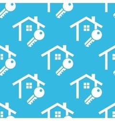 House key pattern vector