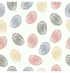 Pattern fingerprints dactyloscopy vector