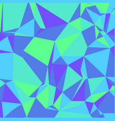 purple blue green low poly background square vector image