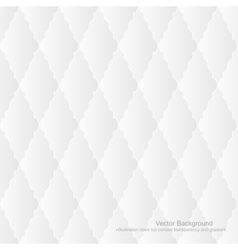 White upholstery background - seamless vector