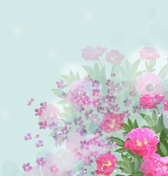 Flower of happiness vector