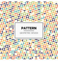 Colorful irregular abstract geometric vector