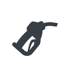 gasoline nozzle gas station icon vector image