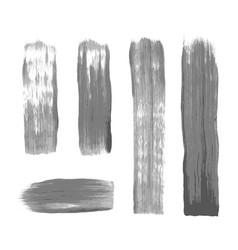 Hand drawn paint brush texture vector