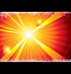 Internet hot background vector