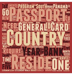 Second passports how where and why text background vector