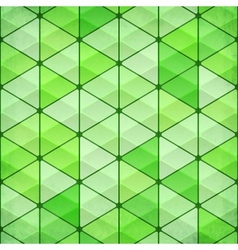 Green vintage triangles background vector