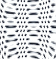 Geometric background created with moire technique vector