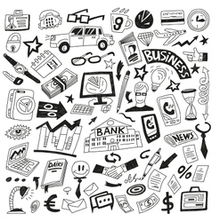 Business - icons collection vector