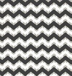 Chevron white silver and grey background vector image