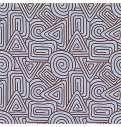 Geometrical seamless pattern vector image