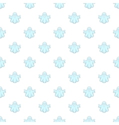 Ghost pattern cartoon style vector image