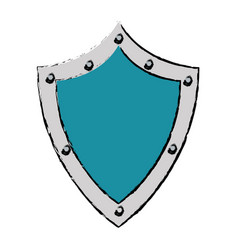 Shield protection security technology symbol vector