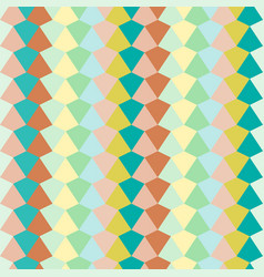 stripes pattern of abstract triangle vector image vector image