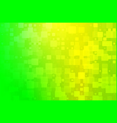 Yellow golden green shades glowing various tiles vector