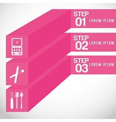 Make up infographics vector