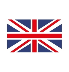 England flag isolated icon design vector