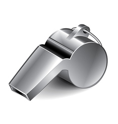 object whistle vector image