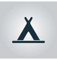 wigwam icon vector image