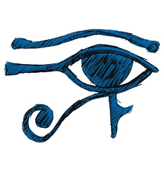 Eye of ra vector