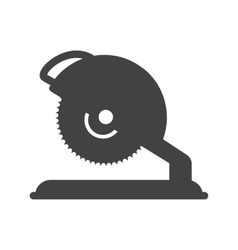 Electric saw vector